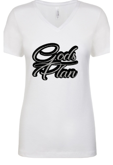 Expressions Customized Womens Gods Plan Gray/Black/White Glitter 3