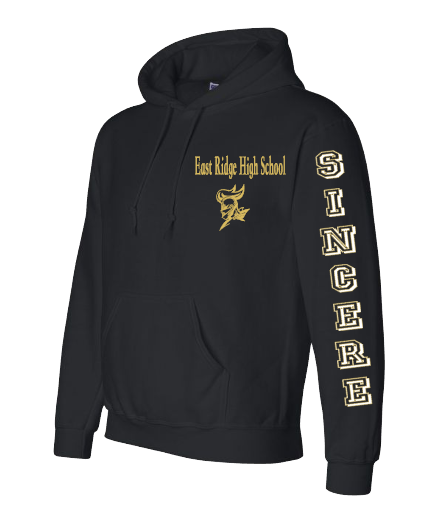 Expressions Customized East Ridge Sincere Black Hoodie 1