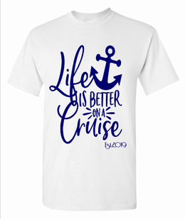 Expressions Customized Events or Causes - Life is Better on a Cruise