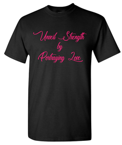 Expressions Customized Unveil Strength by Portraying Love Black