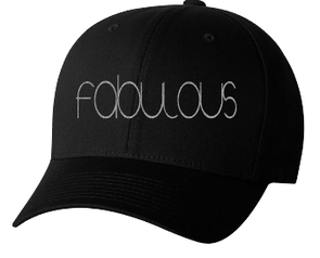 Expressions Customized fabulous Gray/Black Fitted Hat 1
