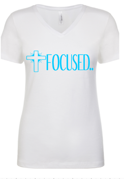 Expressions Customized Womens Focused White 1