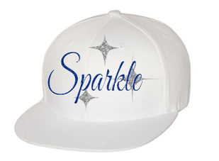 Expressions Customized Expressing Your Ideas - Sparkle White Hat