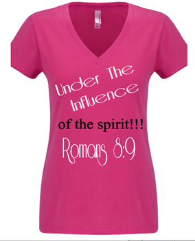 Expressions Customized Womens Under the Influence Pink 1