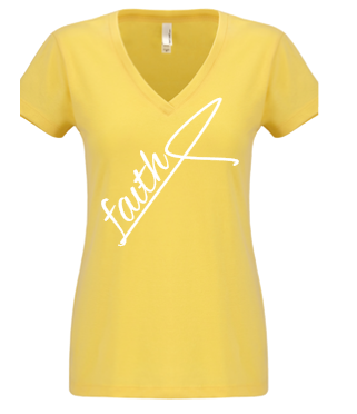 Expressions Customized Womens Faith Yellow